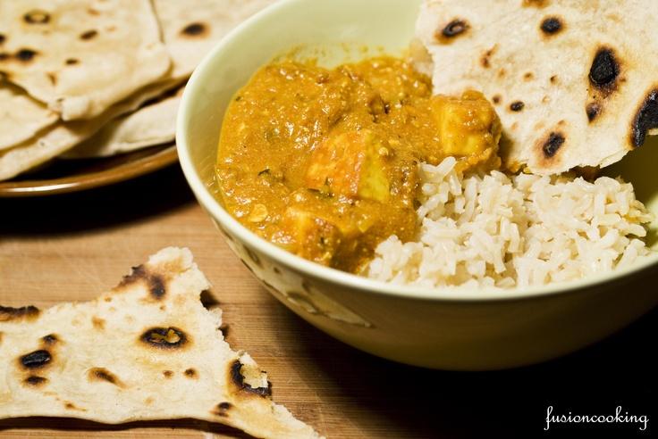 Paneer butter masala, un fel de branza cu rosii pe stil Indian