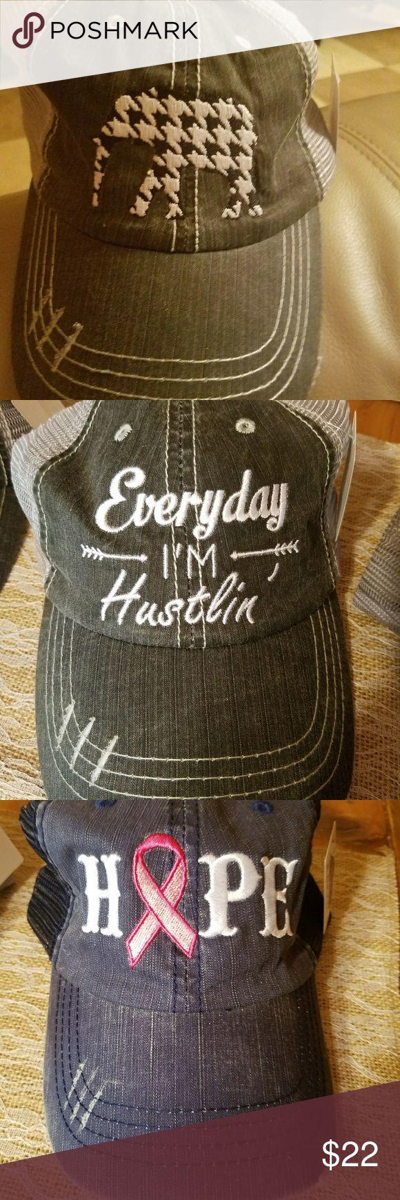 KatyDid Embroidered Hat Embroidered  Trucker  Hat katydid Accessories Hats