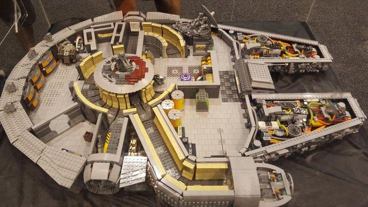 Lego Millennium Falcon interior