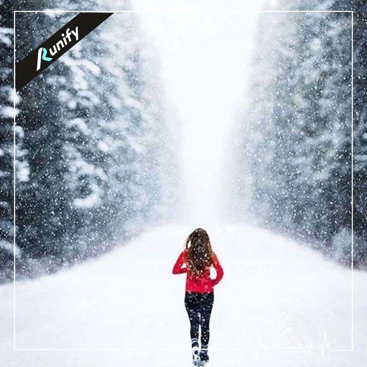 Havanın kaç derece olduğu keşifçi ruhunu etkilemesin!.. Koşmaya ve spor yapmaya devam... Günaydın!  #sport #winter #kış #yürüyüş #koşuyoruz #saglikliyasam #enerji #koşu #kosukadini #runifybebek