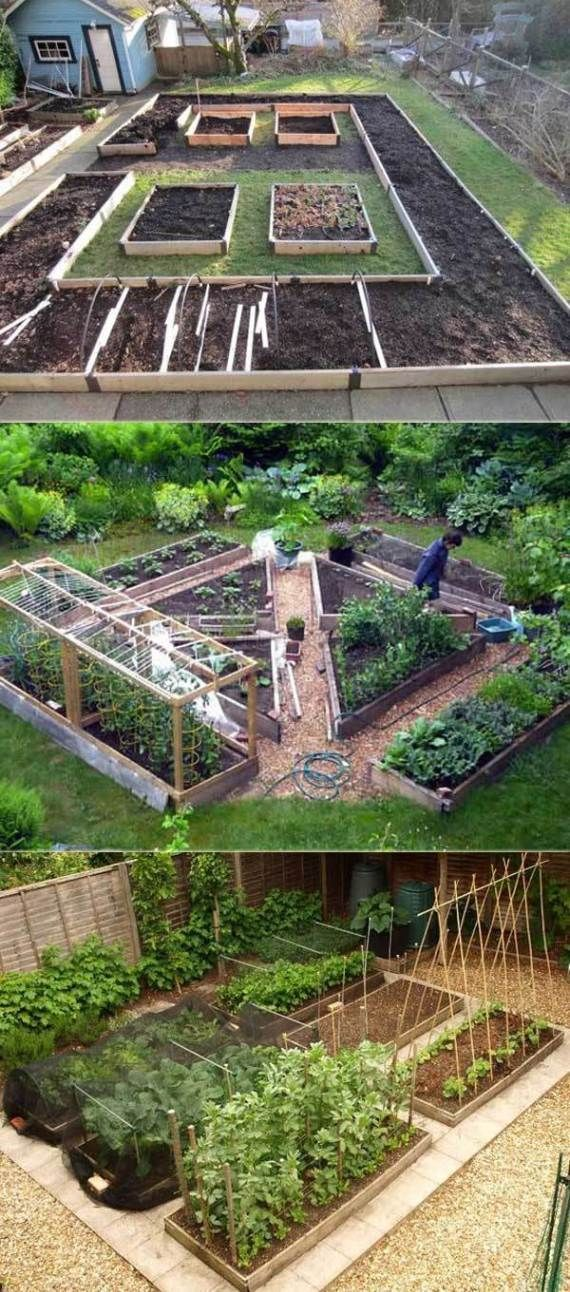 #Bed #FarmFoodFamily #Garden #Ideas #Raised #Simple