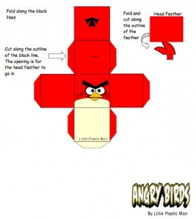 Blog_Paper_Toy_papertoys_Angry_Birds_Red_Bird_template_preview                                                                                                                                                                                 More