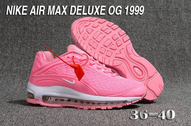 Womens Nike Air Max DLX 2019 Running Shoes Pink White 849559 012 849559 012