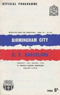 Birmingham City FC v CF Barcelona