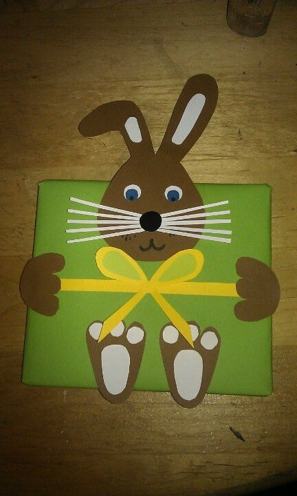 carte lapin de Pâques