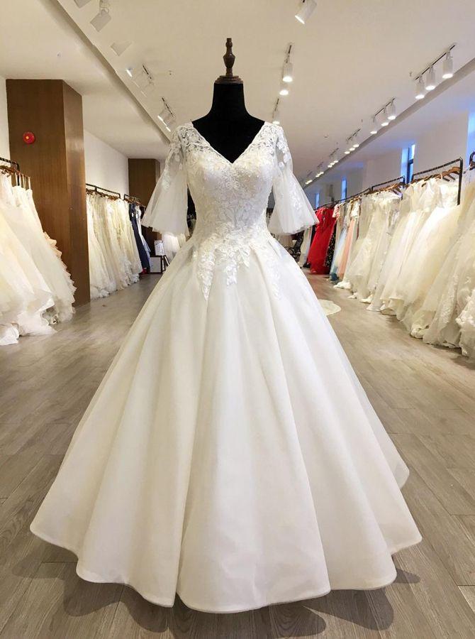 Vintage Women/'s Lace Bridal Dresses Gown Wedding Dress Custom Advanced  Manual