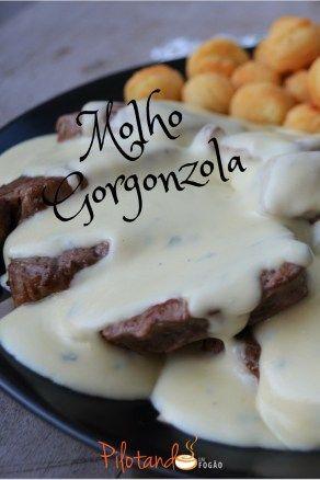 Receita fácil de molho gorgonzola