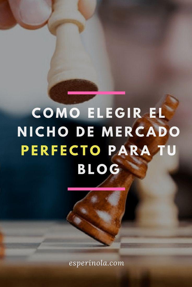 Descubre cómo elegir el nicho de mercado perfecto para tu Blog
