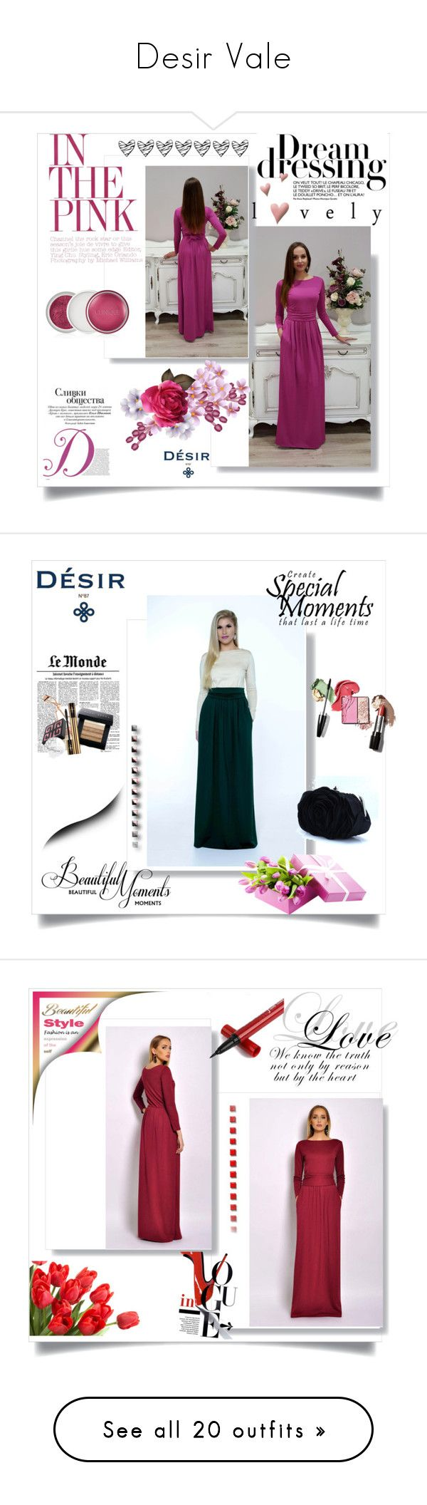 """""""Desir Vale"""" by elma-993 ❤ liked on Polyvore featuring Clinique, DesirVale, plus size dresses, WALL, Vintage, Jimmy Choo, Office, Dolce&Gabbana, Sole Society and Bobbi Brown Cosmetics"""