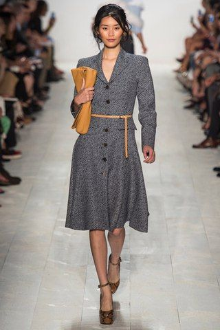 Michael Kors coat fashion show catwalk Kate Middleton Fashion