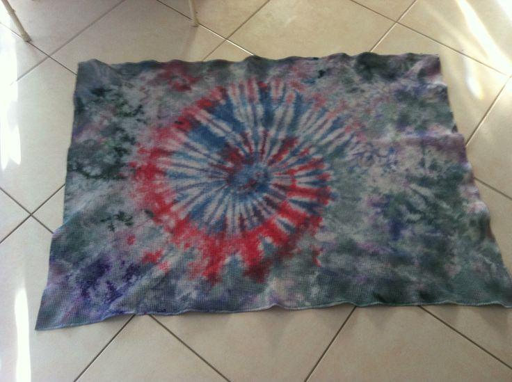 Blanket I tie dyed