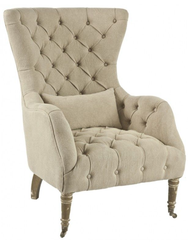 1000 images about comfortable chairs on pinterest for Comfortable wingback chair