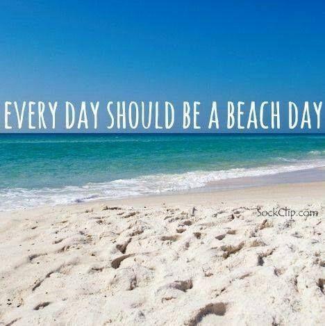 Beach day....