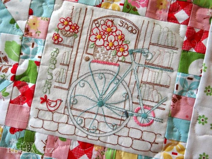 151 best Jenny of Elefantz Embroidery and Quilting images on ... : quilt embroidery patterns - Adamdwight.com
