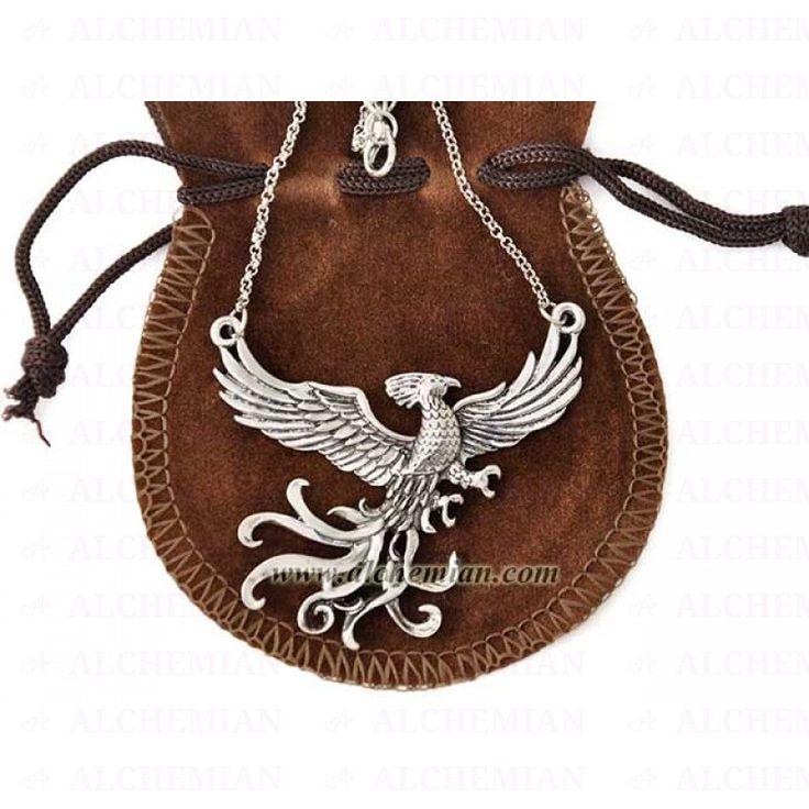 Harry Potter, collana Fanny fenice di Albus Silente - phoenix necklace