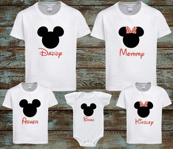 Ms de 25 ideas increbles sobre Camisas de la familia de disney