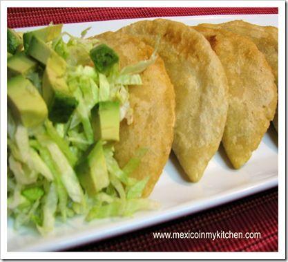 Masa empanadas.  I promised Jason I would make something like this! #masa #empanadas #entree