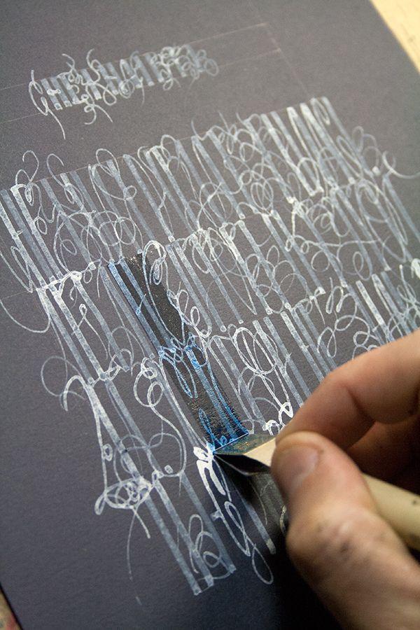 Снежная вязь. Vyaz. Russian Calligraphy
