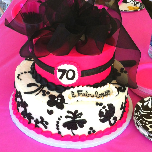 Mom S 70th Birthday Cake I Designed It Tasted As Good Looked