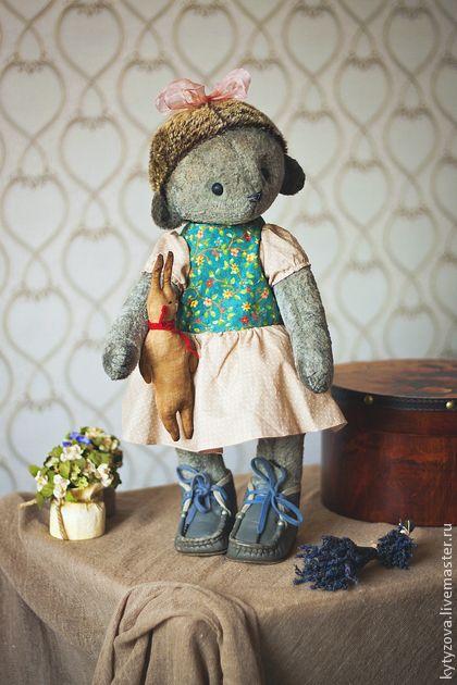 Мишки Тедди ручной работы. Ярмарка Мастеров - ручная работа Тося - ежиха. Handmade.