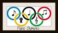 Heidi's Piano Studio: Piano Summer Olympic Events Incentive #pianoteaching