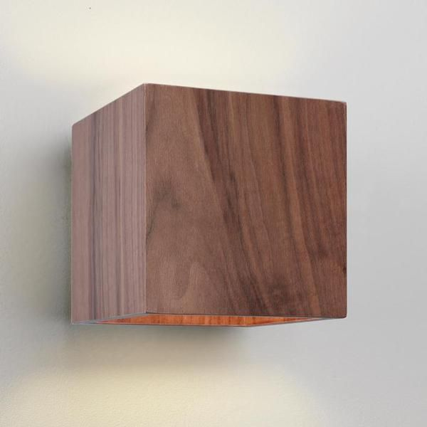 wood wall lights photo - 1