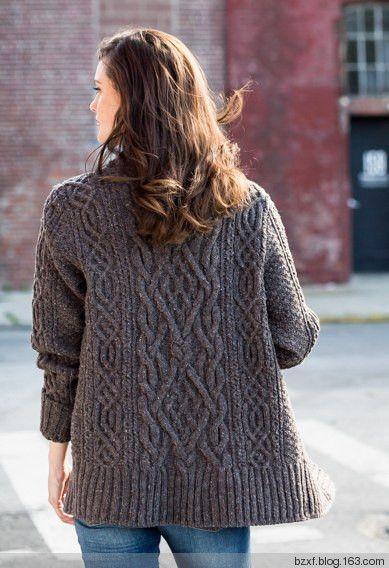 绞花外套 - 编织幸福 - 编织幸福的博客