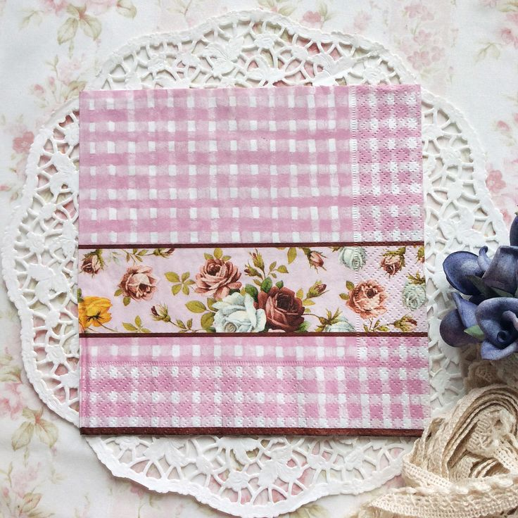Napkin Papers Serviettens Decoupage Tissue  Vintage Pink Roses 33x33 cm (1/4 folded)  IDR 15.000/pc Send me your inquiry to yufihandcrafted@gmail.com   Shabby Chic Victorian Cottage Vintage Retro Rose Floral Flower Paper Napkins   And get a special discount on bulk order!