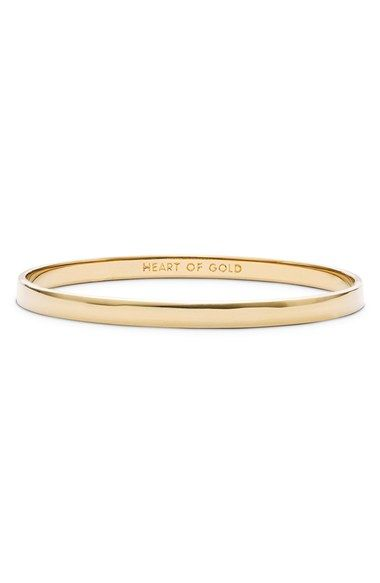 Kate Spade 'Heart of Gold' bangle