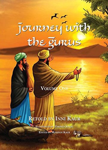 Journey with the Gurus by Inni Kaur Available at Sikhbookshelf.com