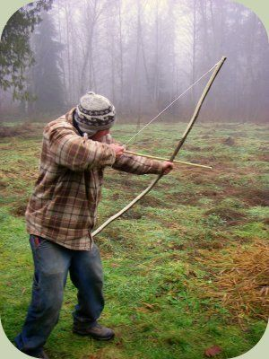 How to make a quickie bow for survival