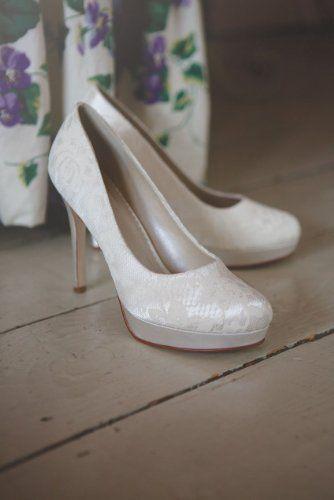 Ella Rainbow Brautschuhe in ivory (38): Amazon.de: Schuhe & Handtaschen
