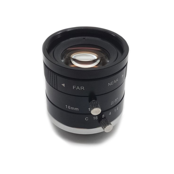 "2/3"" F1.4 Aperture C-Mount 16mm Focal Length Industrial Vision Camera Lens for Industrial Microscope //Price: $151.25//     #Gadget"