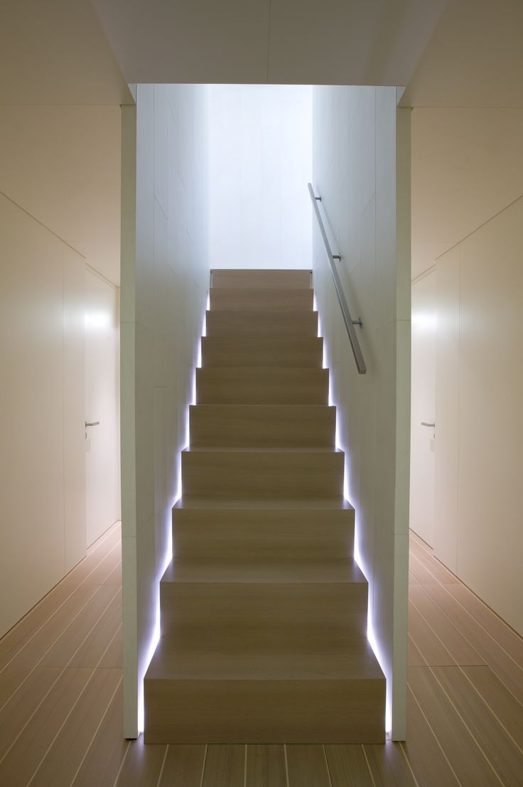 lighting stairs. Love The Stair Lighting. Interior View Of Baracuda Yacht (Perini Navi) By John Pawson _ Lighting Stairs R