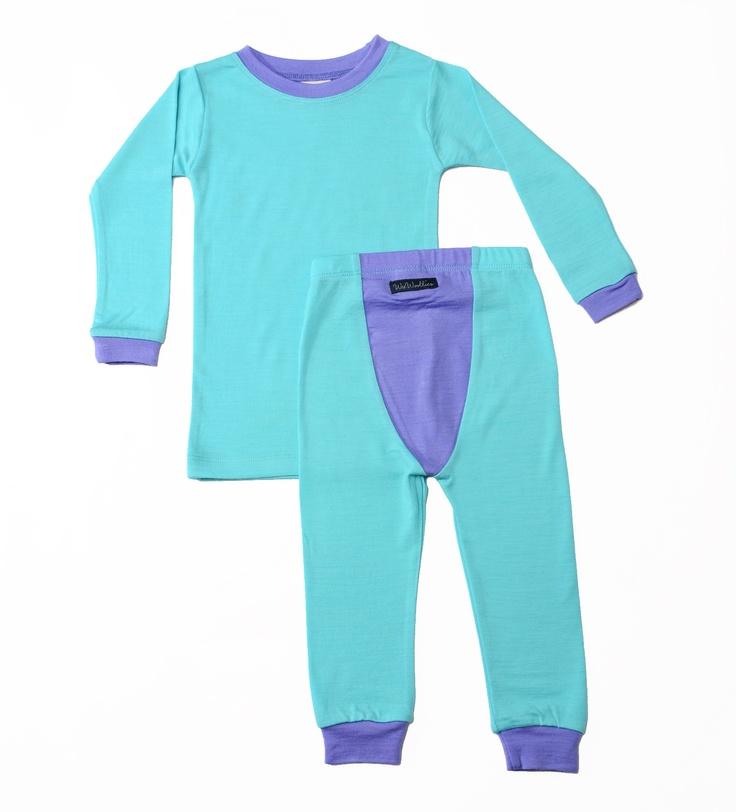 Wee Woollies Merino Pajamas - Big Kids. Made in Canada. 3 yr up to 6yrs.
