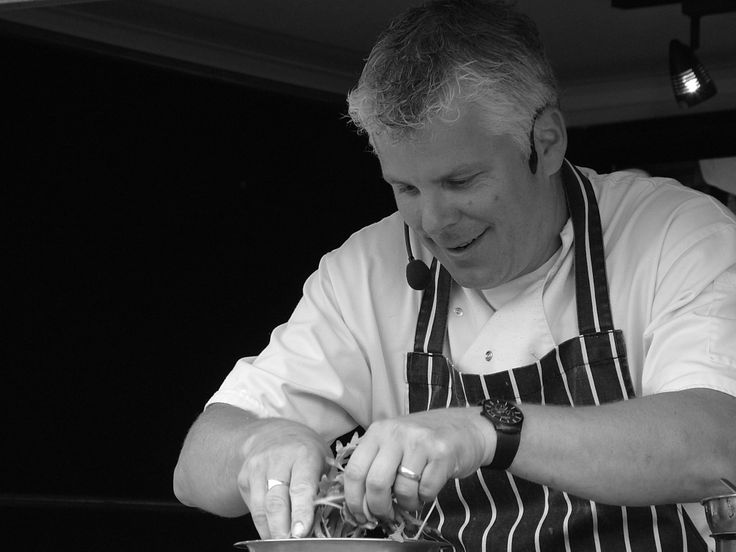 This is the lovely Daren Bale, Chef/Proprietor at The Hop Pole in Bewdley, Worcestershire. Daren is a fantastic demonstrator and flies the flag for local, seasonal produce. He'll be working with us once again in 2014 including appearances at Royal Three Counties Show, Droitwich Food Festival, Upton Food & Beer Festival & Far Forest Countryside Show