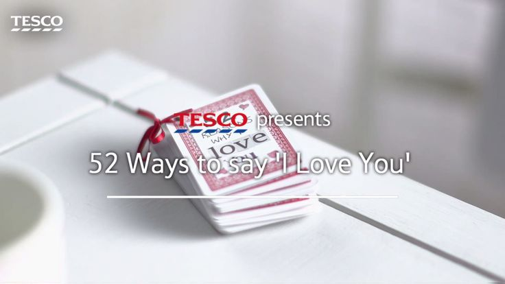 Wow your loved one this Valentine's Day with our DIY 52 reasons why I love you deck of cards. Watch the video to find out how | Tesco