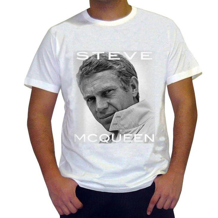 Steve McQueen Men's T-shirt ONE IN THE CITY