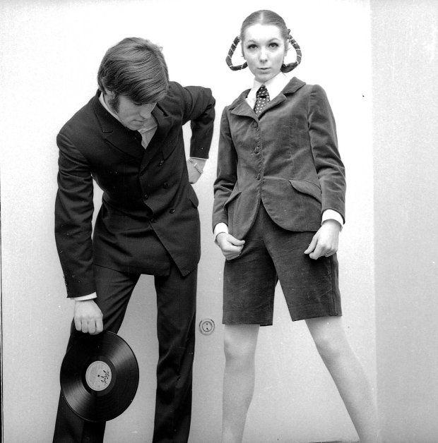 Polish fashion | 60s| Tadeusz Rolke