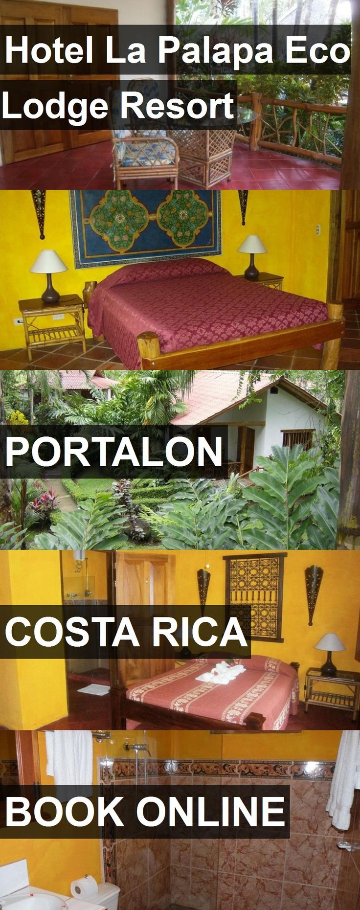 Hotel Hotel La Palapa Eco Lodge Resort in Portalon, Costa Rica. For more information, photos, reviews and best prices please follow the link. #CostaRica #Portalon #hotel #travel #vacation