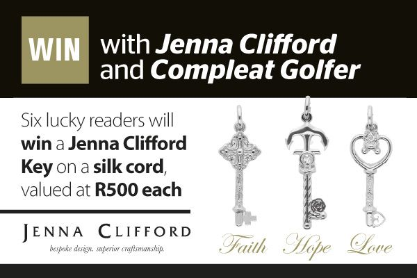 Win 1 of 6 Jenna Clifford Keys on a silk cord worth R500 each | Ends 28 February 2015