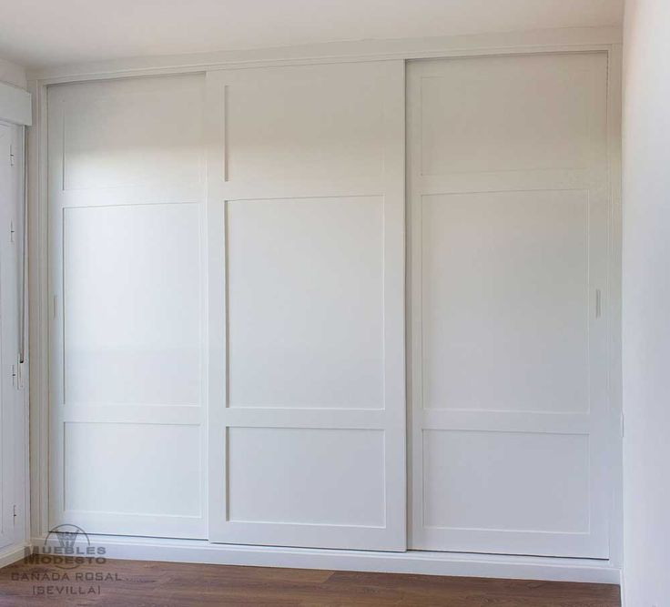 Armarios empotrados a medida – Muebles Modesto