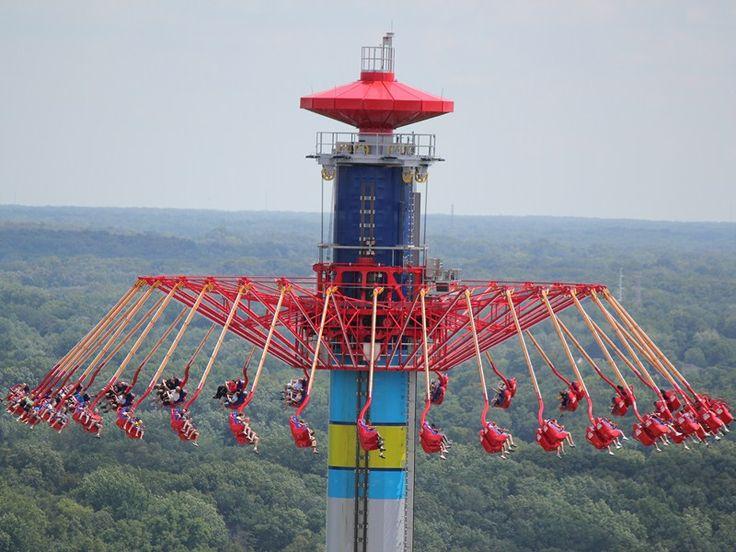 Windseeker, 300 feet in the air... Kings Island, Ohio