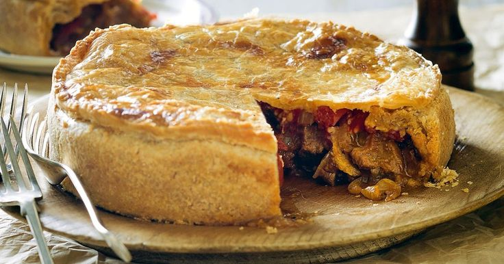 Sumptuous chunks of curried beef ooze out of homemade wholemeal pastry in this tempting curry pie.