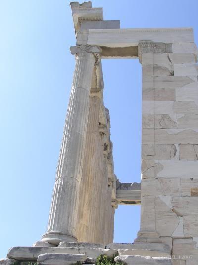 ギリシャ(アテネ&サントリーニ島)の旅【No11】~博物館~エレクティオン神殿 (アクロポリス遺跡周辺)