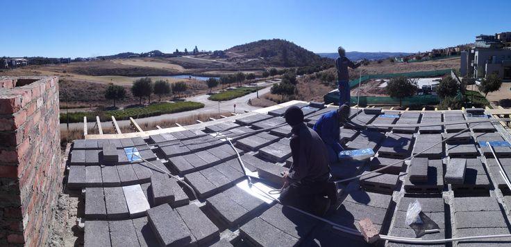 rooftop view Northwards