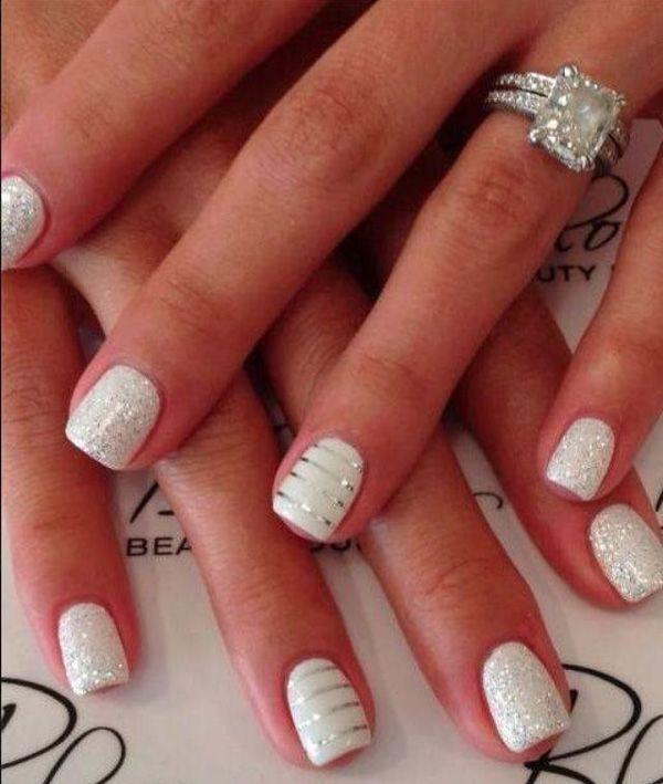 manicura-novias-blanca-y-glitter