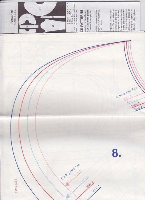 ballet wrap skirt pattern | Leotard and wrap skirt sewing pattern Sizes 4 5 6 7 Kwik sew - by ...