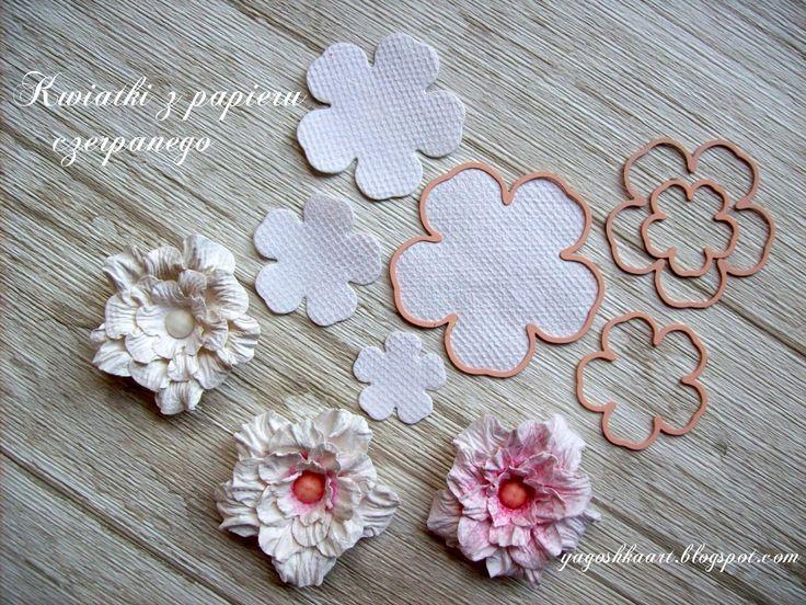 Flower power, czyli produkcja kwiatów z papieru czerpanego