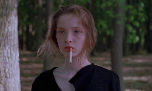 Julie Delpy in Mauvais Sang